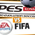 Pro Evolution Soccer and FIFA